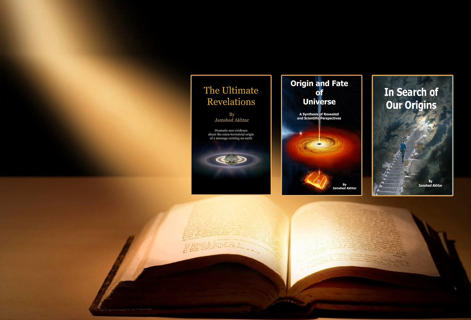 Origin and Fate of Universe – a book bubble – Jamshed Akhtar